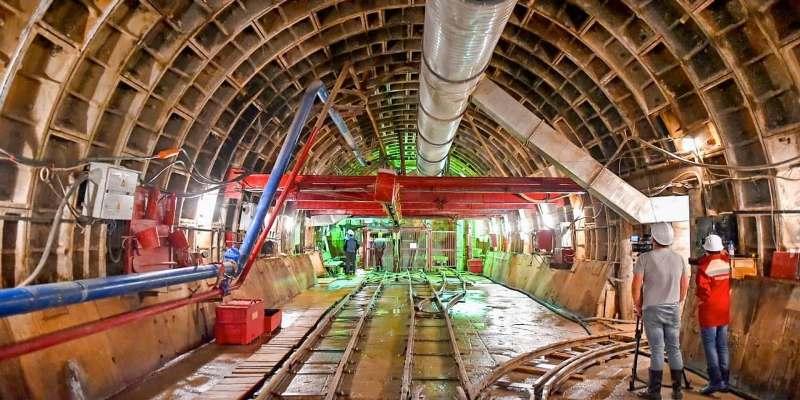 Собянин: западный участок большого кольца сделает метро ближе для 530 тысяч человек. Фото: mos.ru